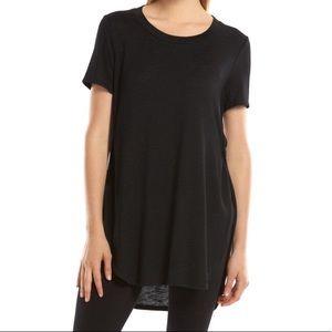 Juniors' Mudd Sweater-Knit Shirttail Tunic T-Shirt